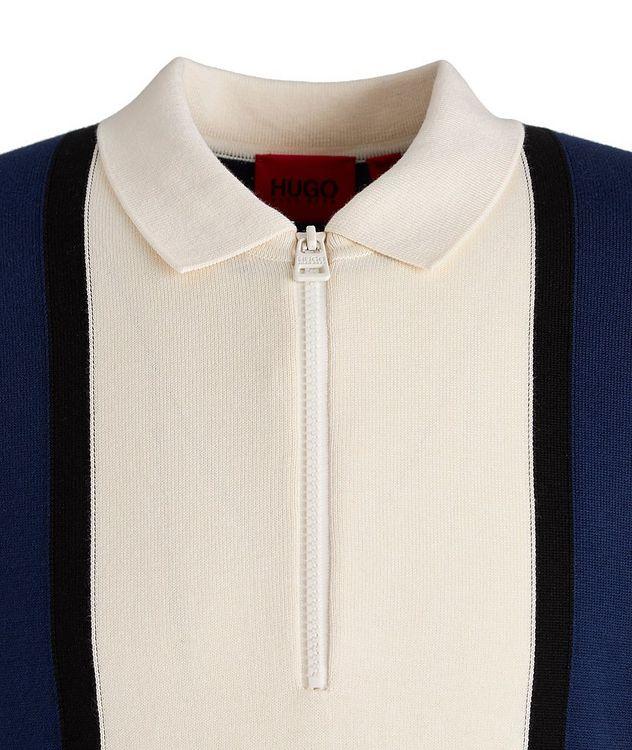 Sholono Knit Cotton-Silk-Blend Polo picture 3
