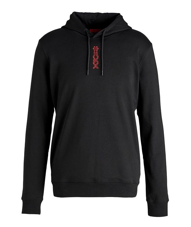 Logo Cotton Hoodie picture 1