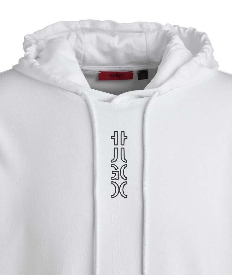 Logo Cotton Hoodie image 1