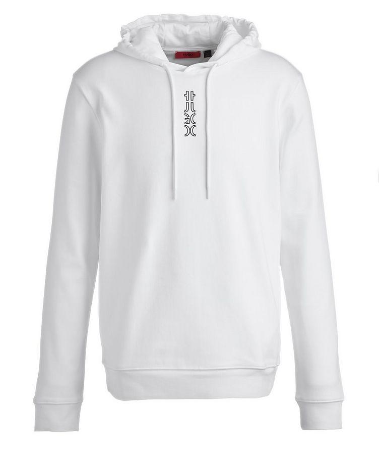 Logo Cotton Hoodie image 0