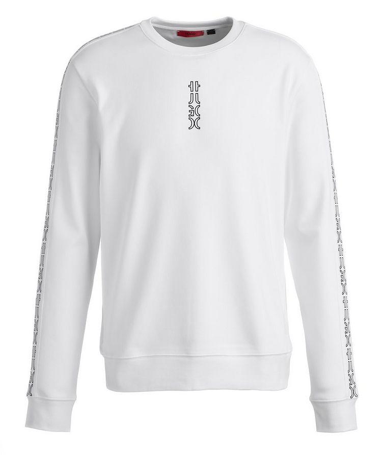 Logo Cotton Crew Neck Sweatshirt image 0