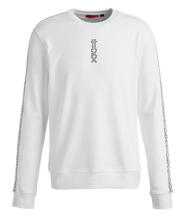 Logo Cotton Crew Neck Sweatshirt picture 1