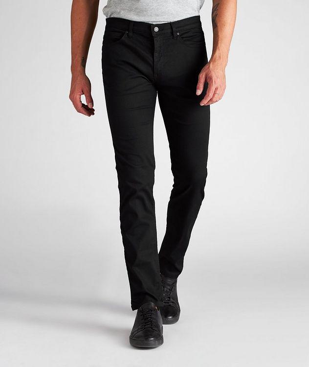 Slim-Fit Stretch-Cotton Jeans picture 2