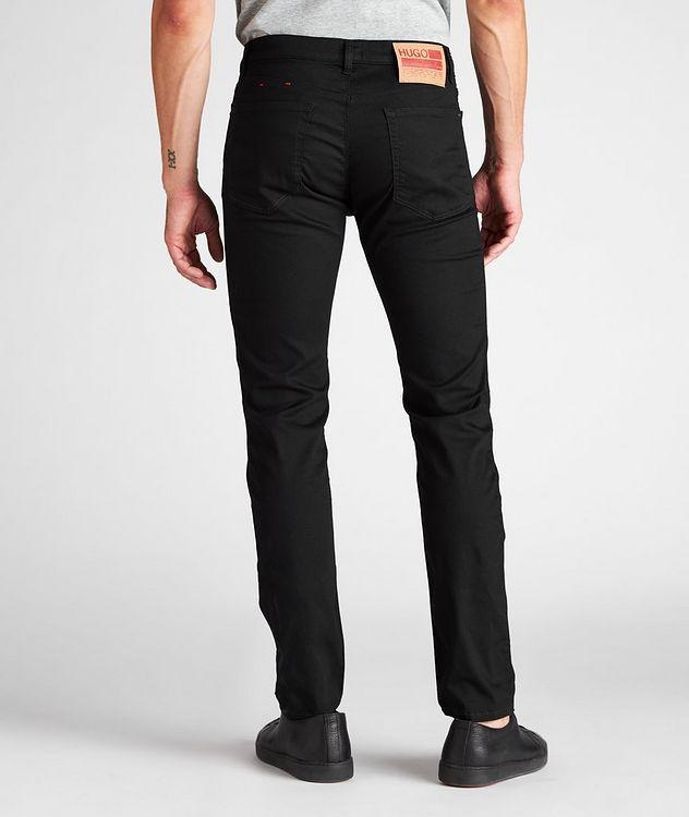 Slim-Fit Stretch-Cotton Jeans picture 3