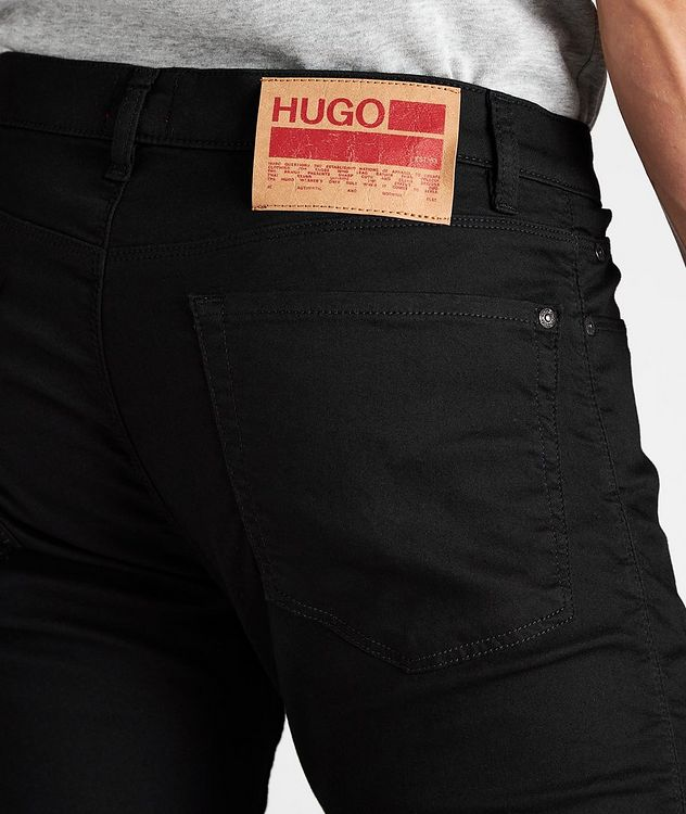Slim-Fit Stretch-Cotton Jeans picture 4