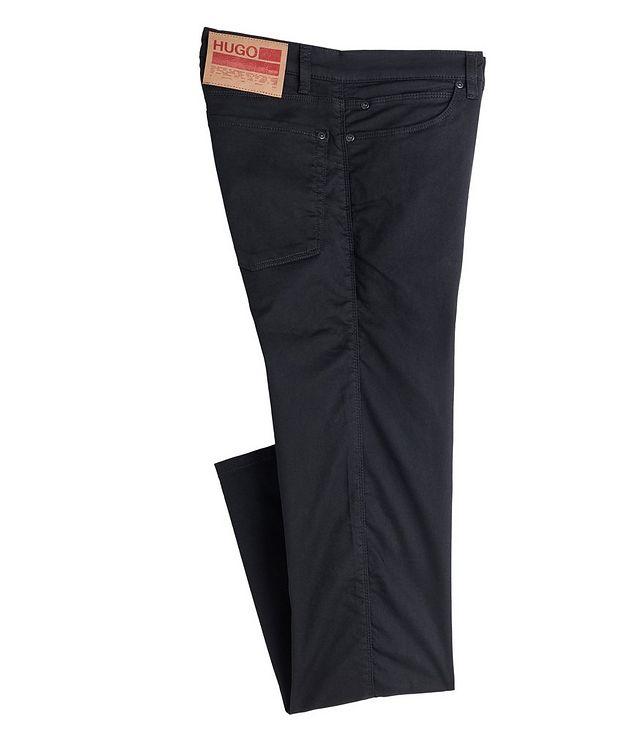 Slim-Fit Stretch-Cotton Jeans picture 1