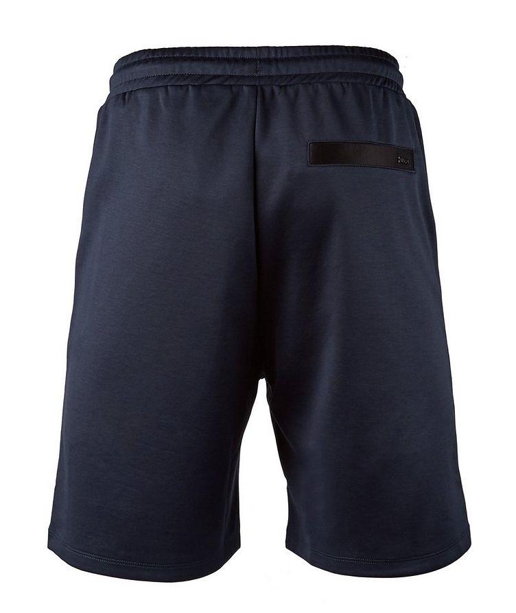 Drawstring Stretch-Cotton Shorts image 1