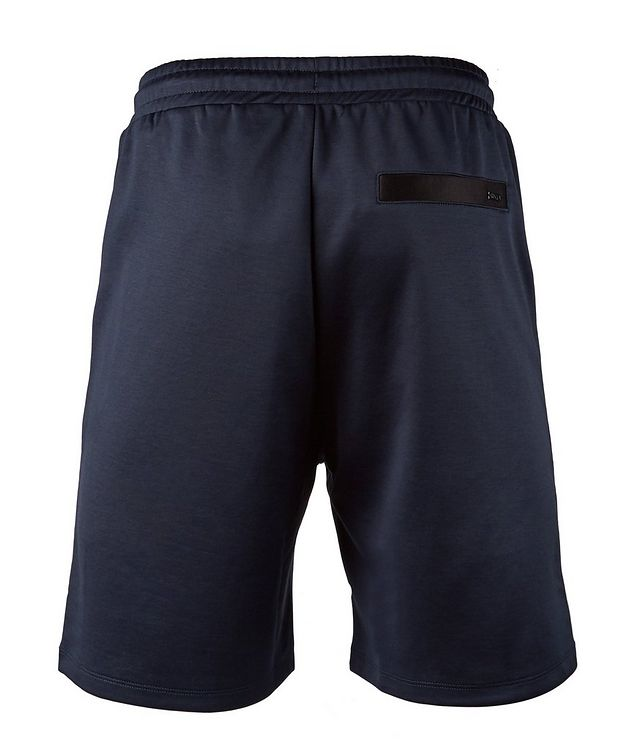 Drawstring Stretch-Cotton Shorts picture 2