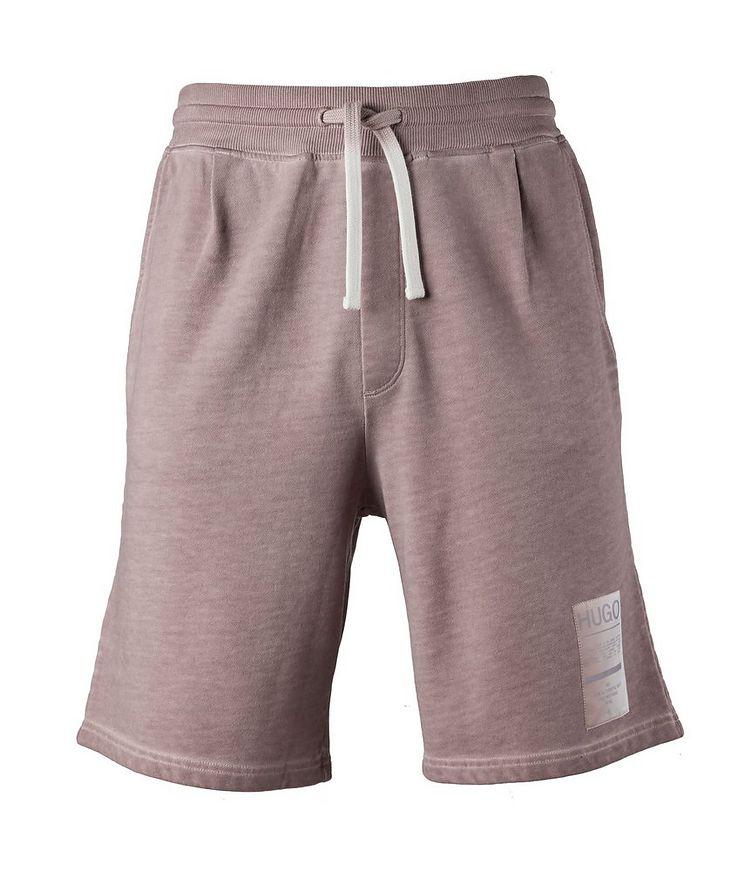 Logo Patch Cotton Shorts image 0
