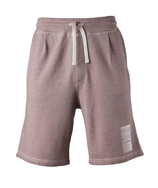 Logo Patch Cotton Shorts picture 1