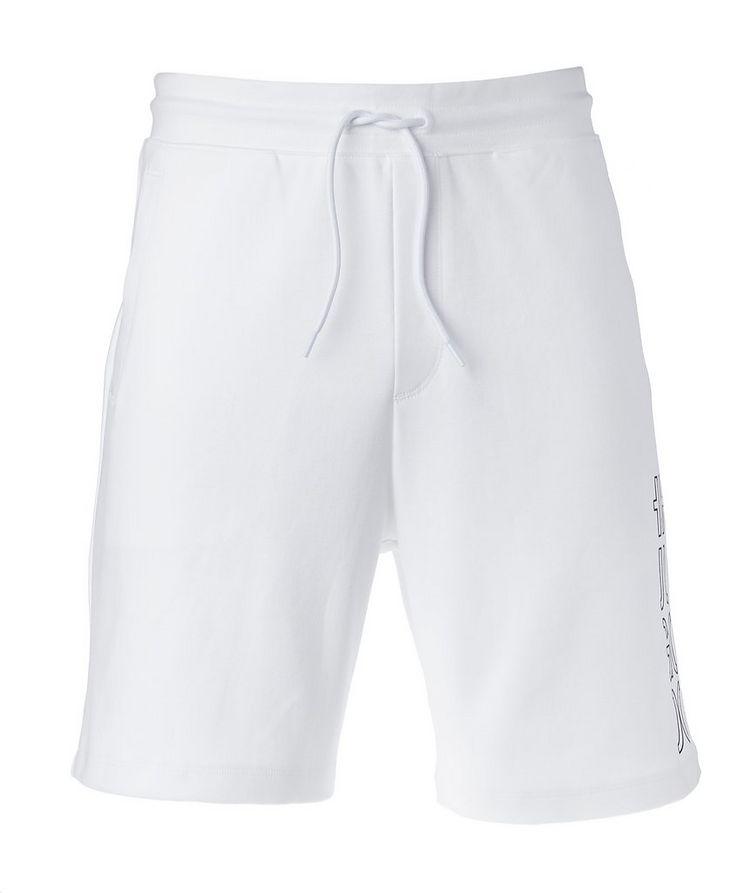 Drawstring Cotton Shorts image 0