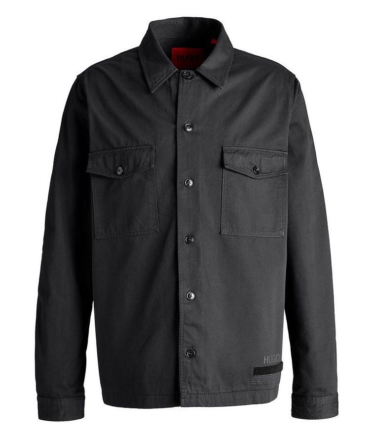 Enalu Cargo Cotton Overshirt Jacket image 0