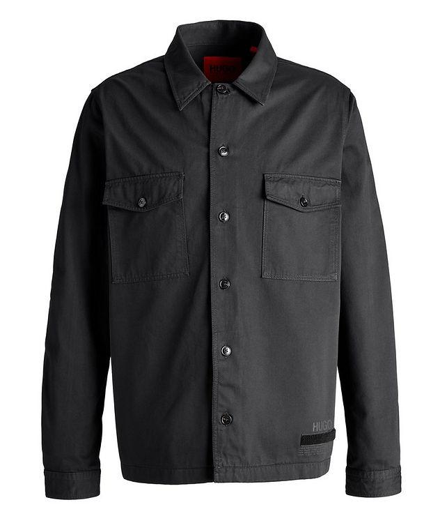 Enalu Cargo Cotton Overshirt Jacket picture 1