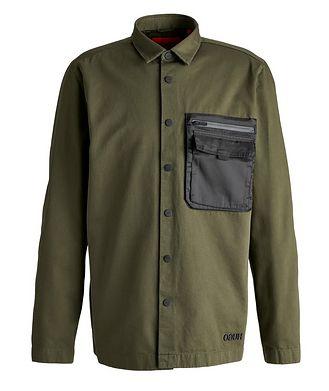 HUGO Elky Cargo Cotton Overshirt Jacket