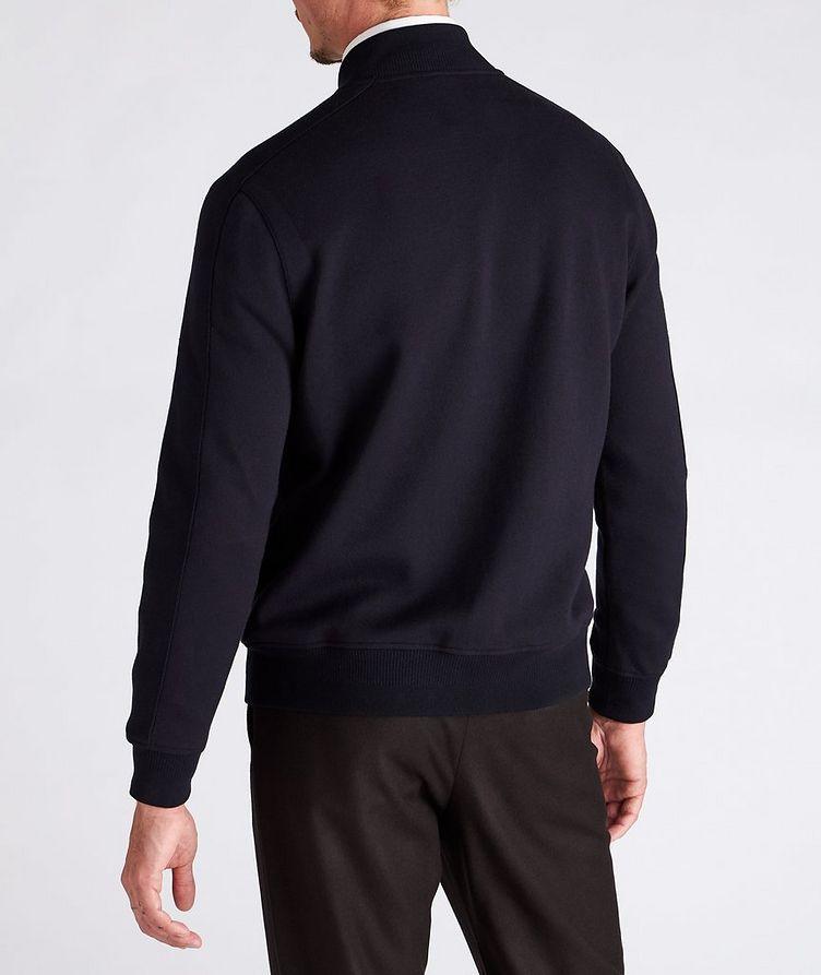 Silk, Cashmere & Cotton Bomber Jacket image 2
