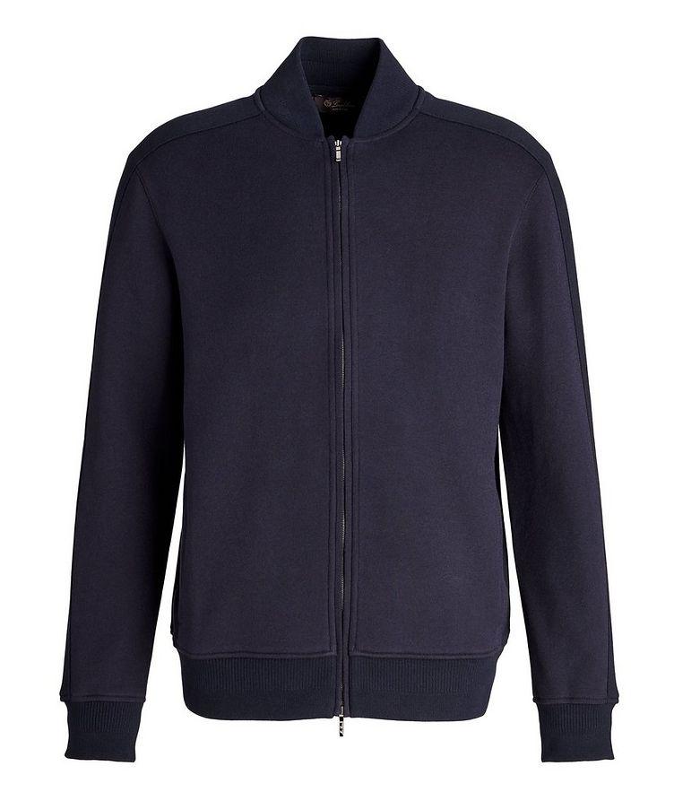 Silk, Cashmere & Cotton Bomber Jacket image 0