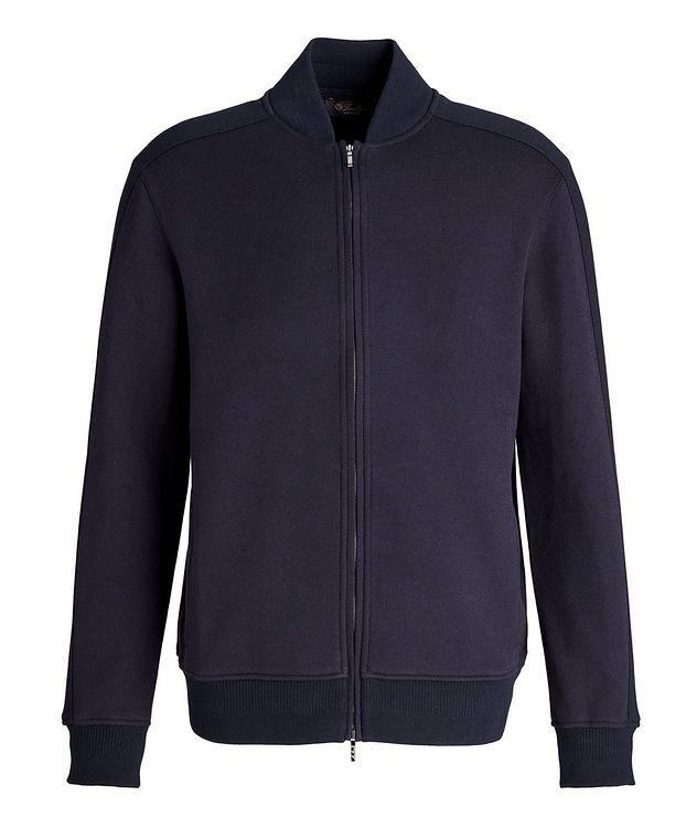 Silk, Cashmere & Cotton Bomber Jacket picture 1