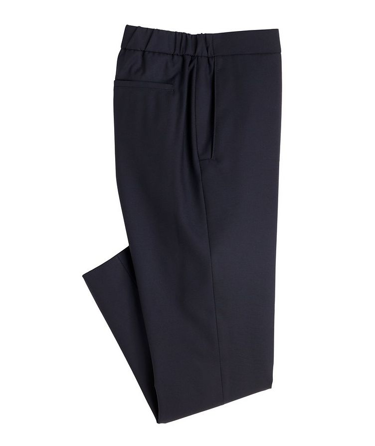 Leisure City Stretch-Wool Trousers image 0