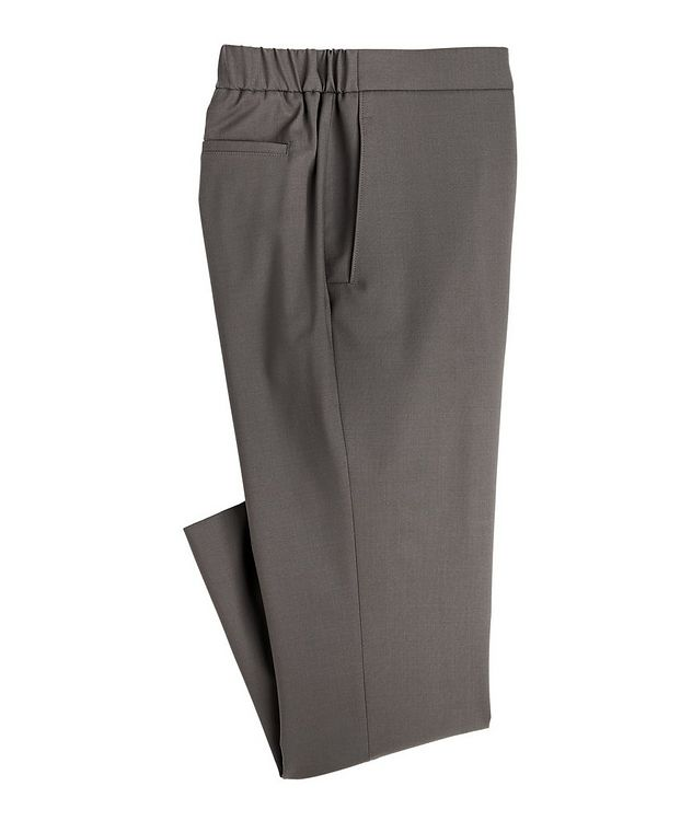 Leisure City Stretch-Wool Trousers picture 1