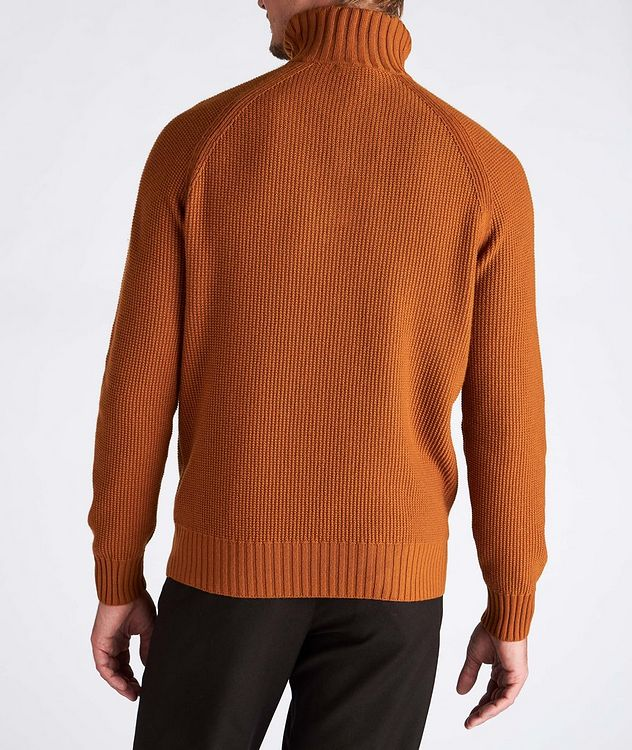 Half-Zip Cashmere Sweater picture 3