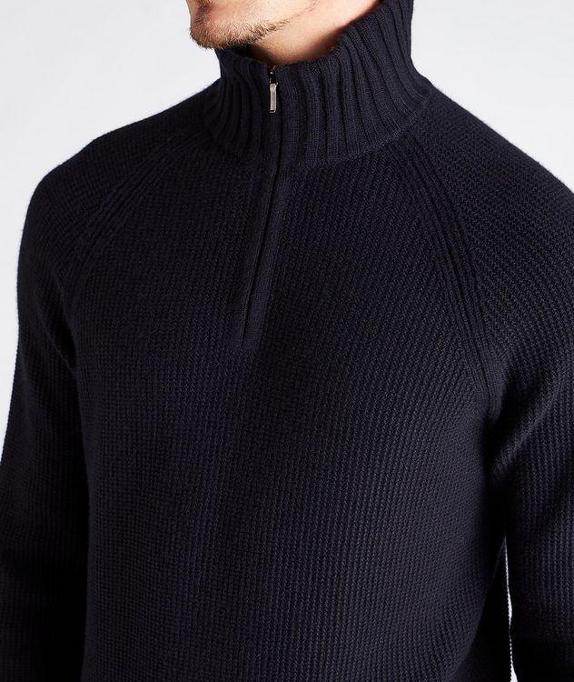 Half-Zip Cashmere Sweater picture 4