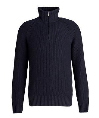 Loro Piana Half-Zip Cashmere Sweater