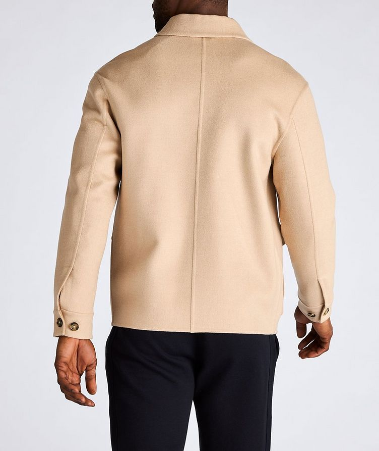 Brent Baby Camel Water-Repellent Overshirt Jacket image 2