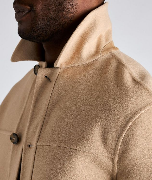 Brent Baby Camel Water-Repellent Overshirt Jacket picture 4