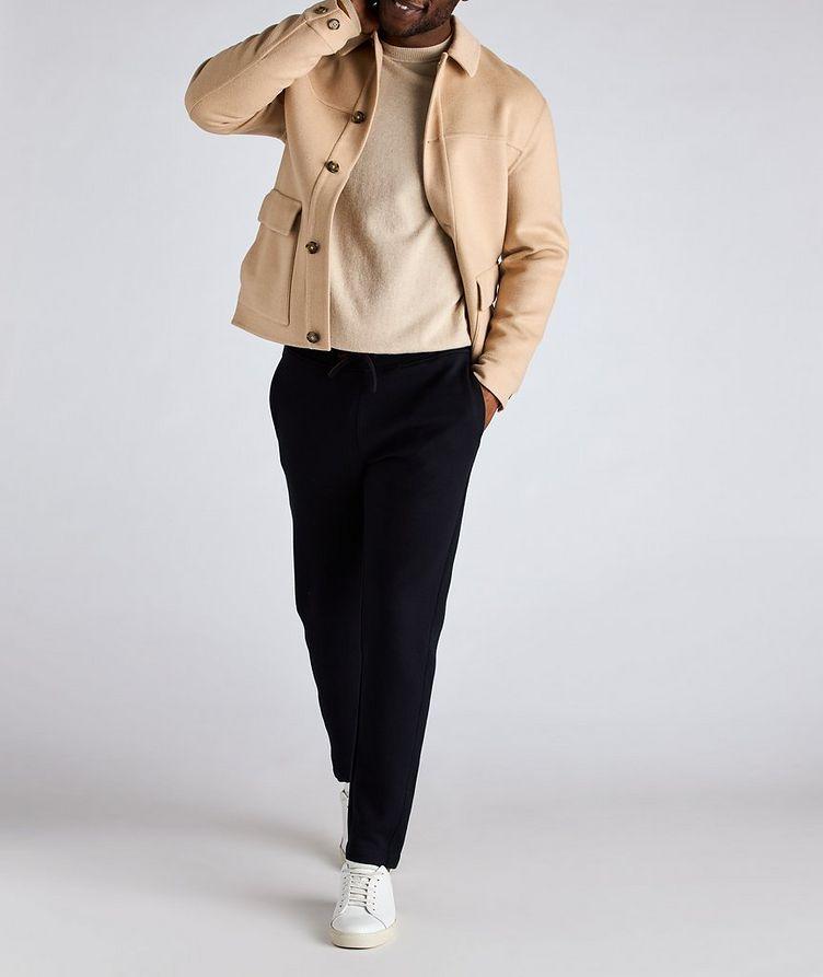 Brent Baby Camel Water-Repellent Overshirt Jacket image 5