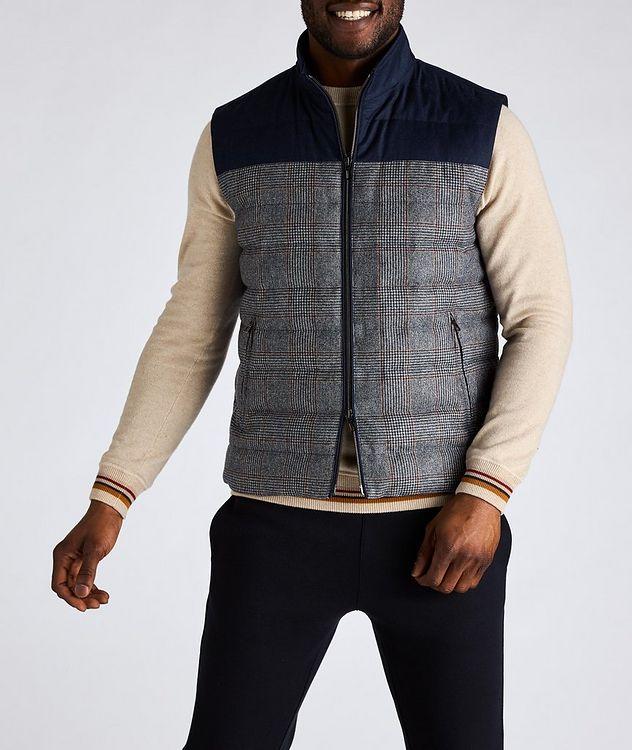 Gateway Water-Repellent Wool-Silk Down Vest picture 2
