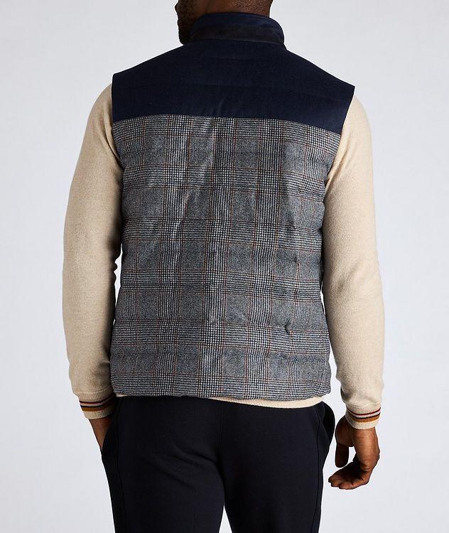 Gateway Water-Repellent Wool-Silk Down Vest picture 3