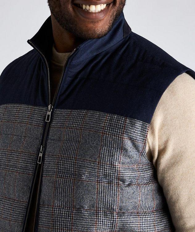 Gateway Water-Repellent Wool-Silk Down Vest picture 4