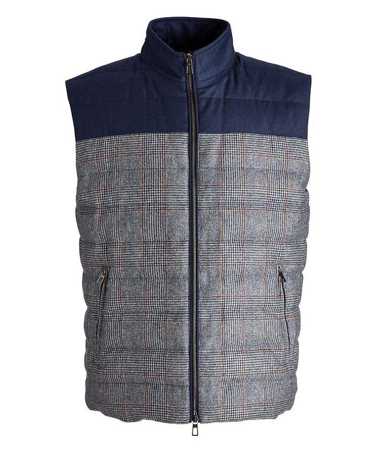 Gateway Water-Repellent Wool-Silk Down Vest image 0