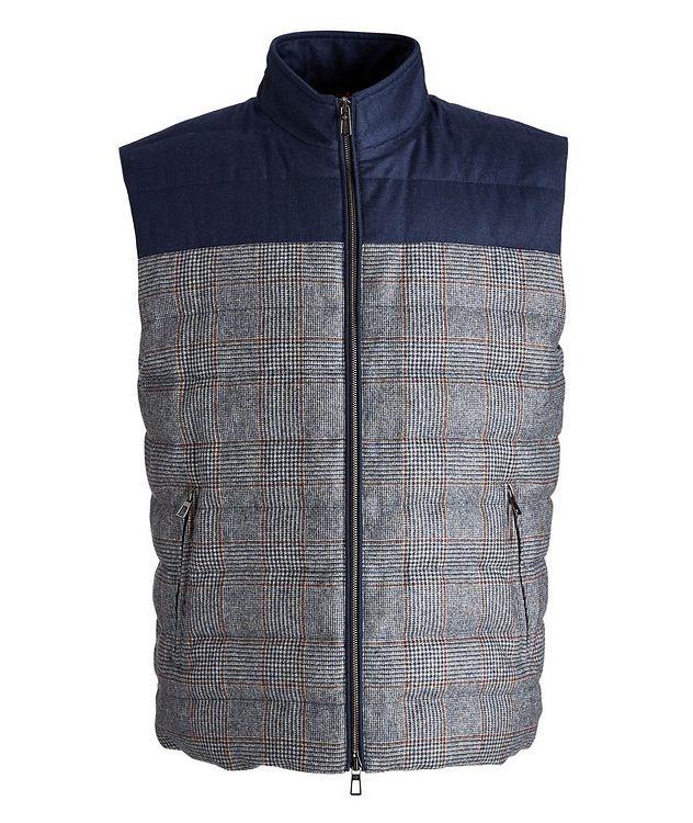 Gateway Water-Repellent Wool-Silk Down Vest picture 1