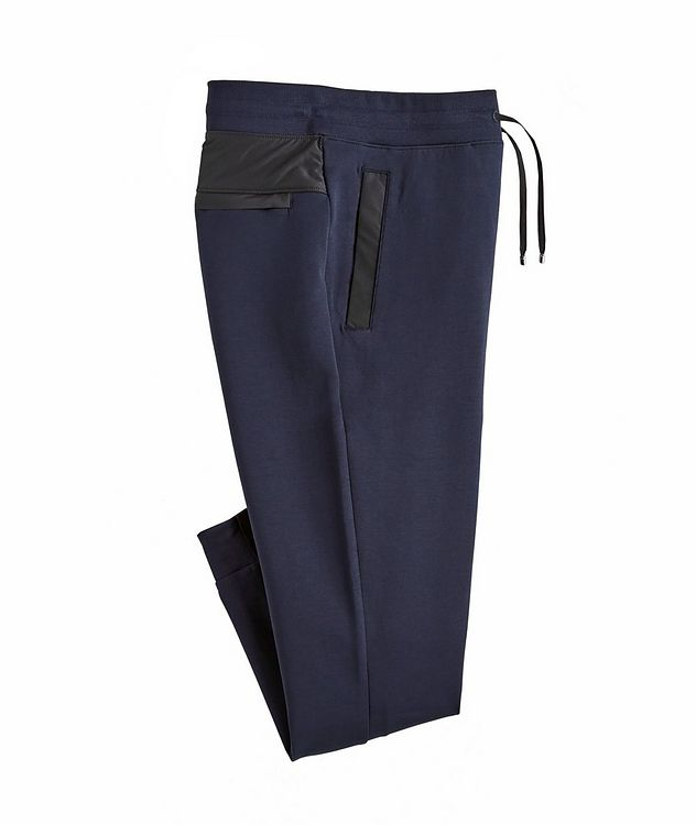 Dirroyal Stretch-Cotton Jersey Track Pants picture 1