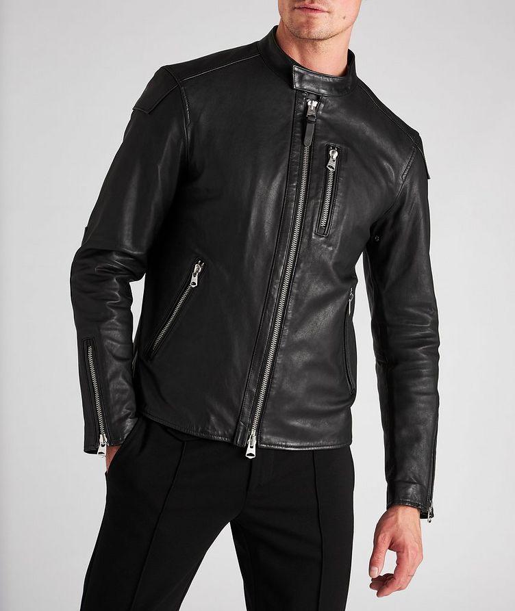 Quinton Leather Moto Jacket image 1