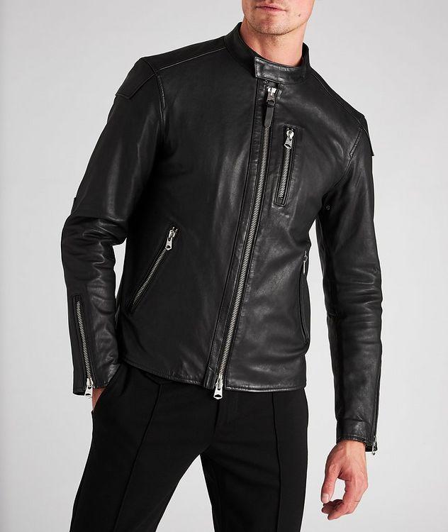 Quinton Leather Moto Jacket picture 2