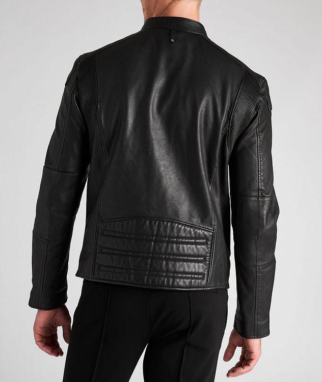Quinton Leather Moto Jacket picture 3