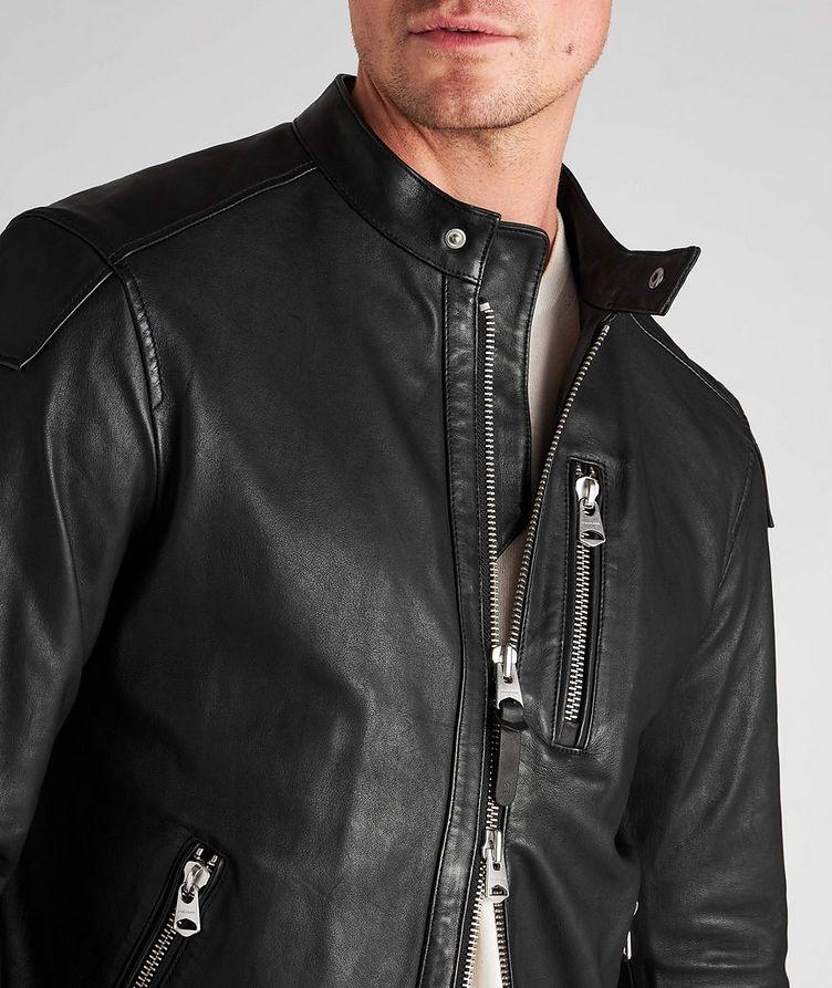 Quinton Leather Moto Jacket image 3