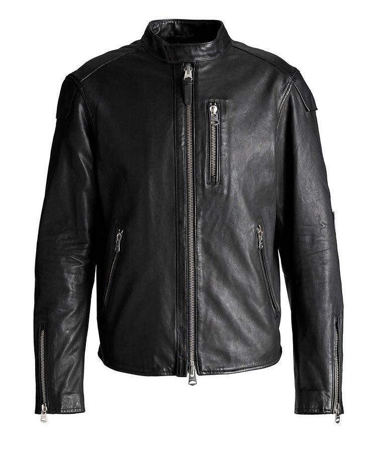 Quinton Leather Moto Jacket image 0
