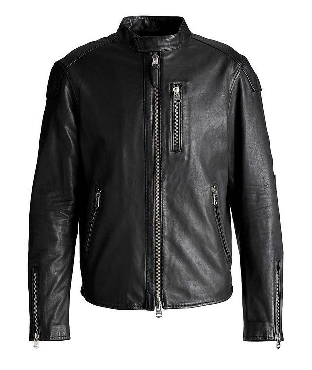 Quinton Leather Moto Jacket picture 1