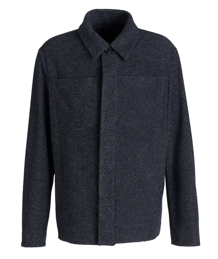 Wool-Cotton Blend Shirt Jacket image 0