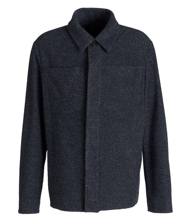 Wool-Cotton Blend Shirt Jacket picture 1