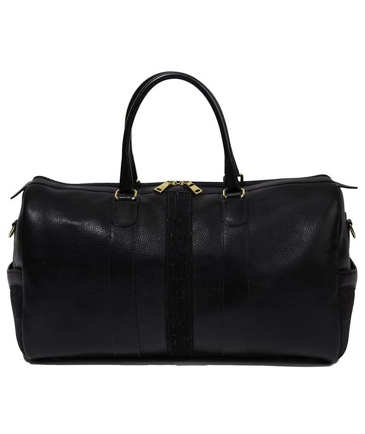 Leather Weekender Bag image 1
