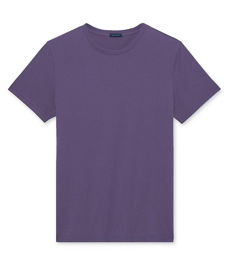 Silk-Cotton T-Shirt image 0