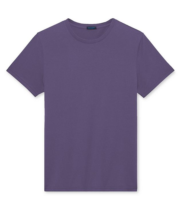Silk-Cotton T-Shirt picture 1