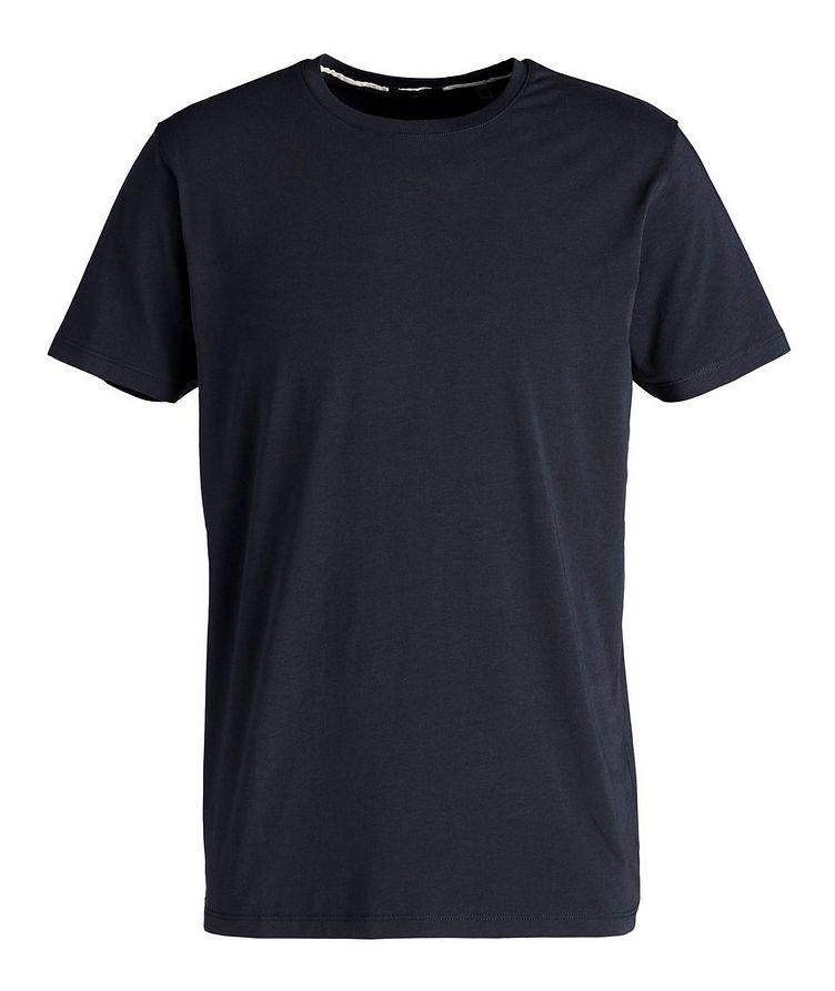 T-shirt en coton pima extensible image 0