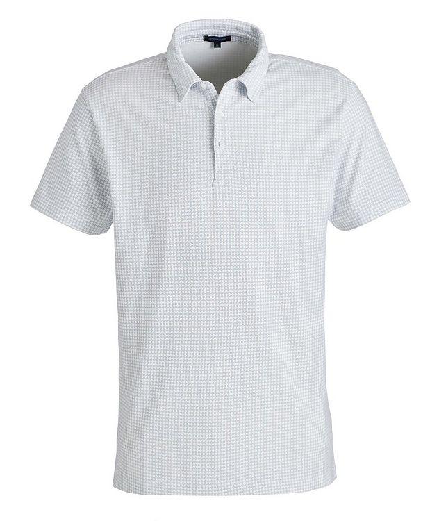 Printed Stretch-Cotton Polo picture 1