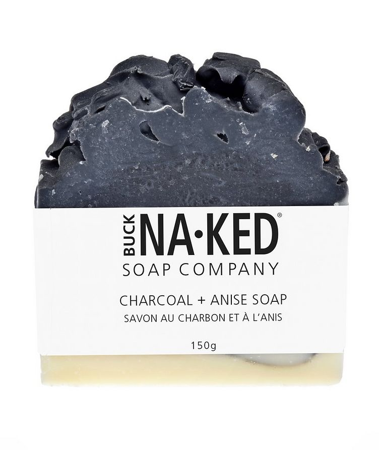 Charcoal + Anise Soap image 0