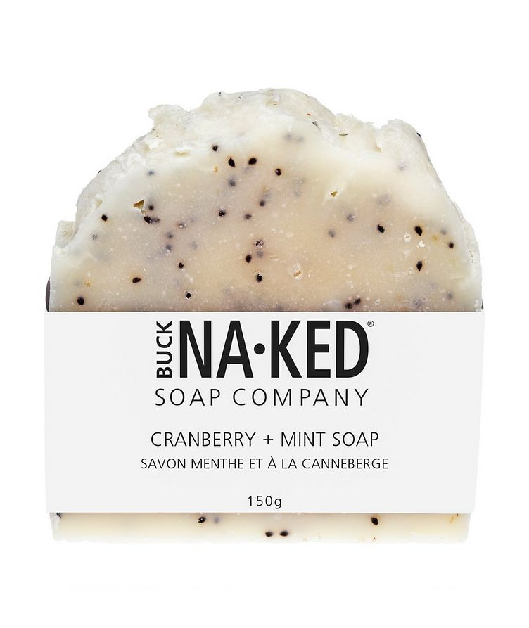 Cranberry + Mint Soap image 0